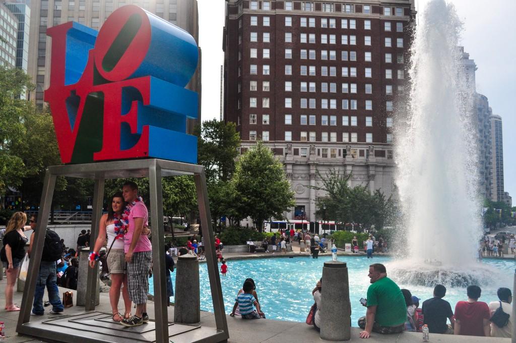 Love Sign Philadelphia