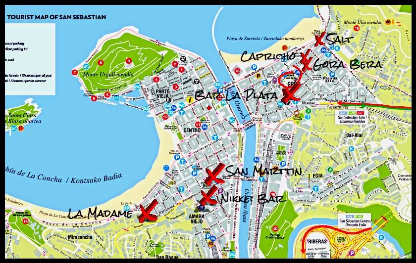 The BEST Pintxo-Pote route in San Sebastián |
