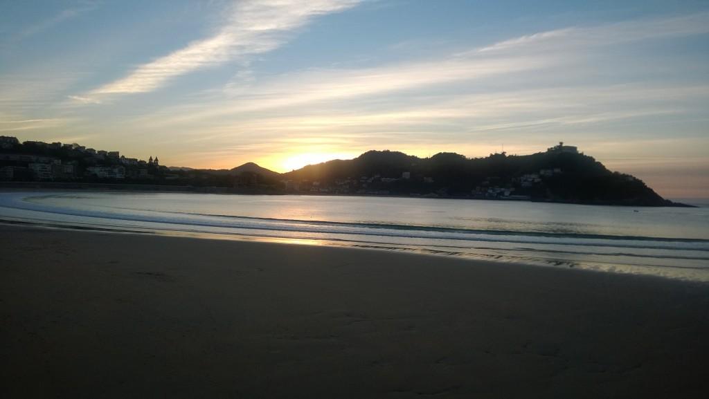 Sunset San Sebastian