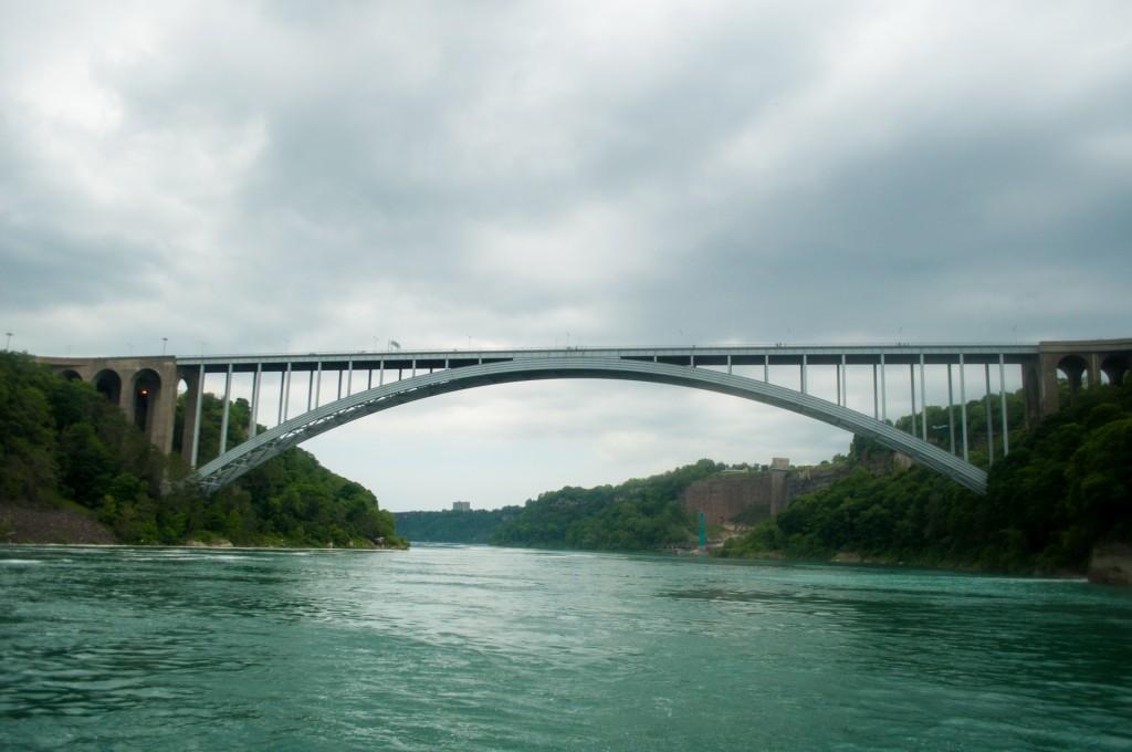 Niagara Falls: Canada-US Border